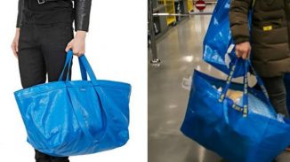 Balenciaga vs Ikea