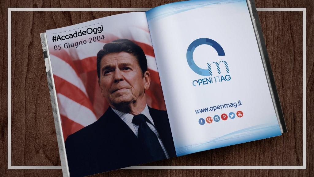 5 giugno 2004: muore Ronald Reagan