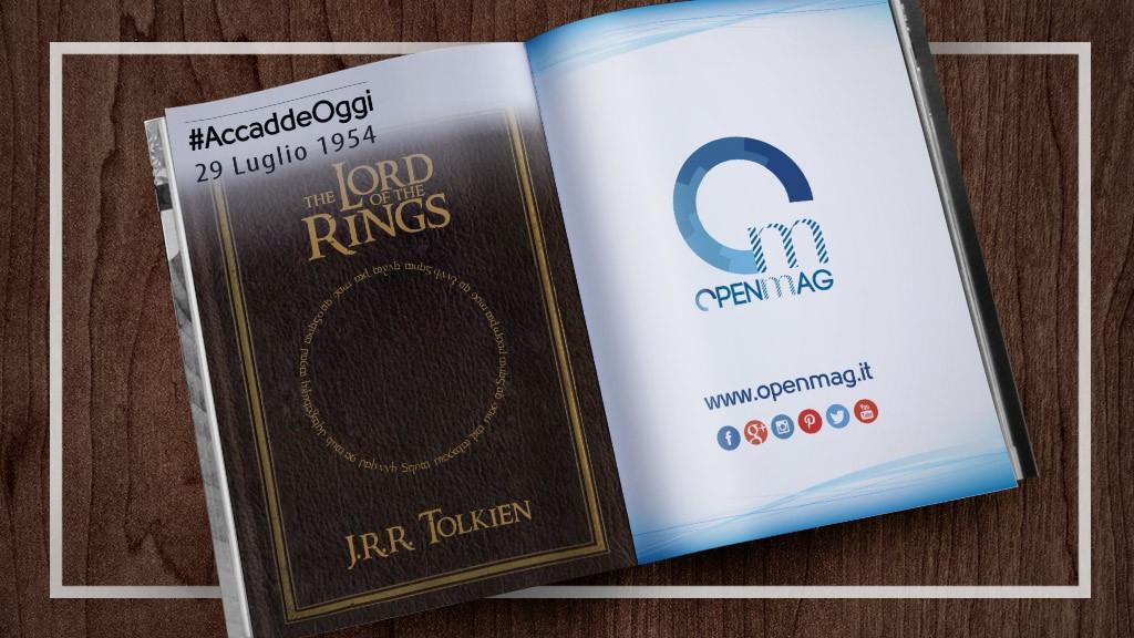 29 luglio 1954: Tolkien pubblica Il Signore degli anelli