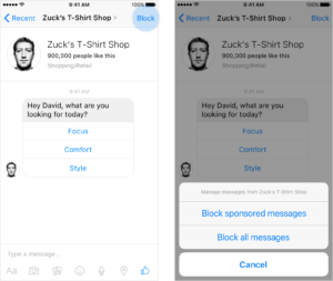 Messenger 1.2: al via l'era dello shopping