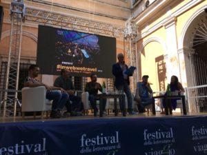 secondo-tempo-con-angelo-zinna-alberto-mattei-e-giulia-raciti festival della letteratura di viaggio