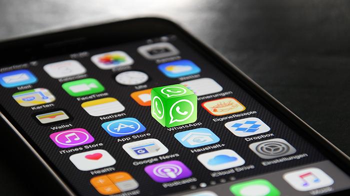 I am using Whatsapp, te lo dico con una gif