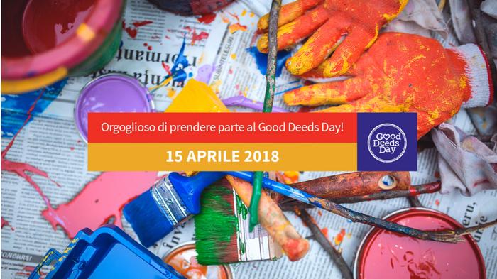 Good Deeds Day: la celebrazione dell'unione