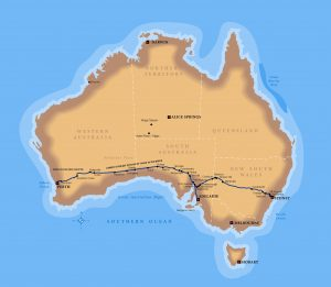Indian Pacific rotta