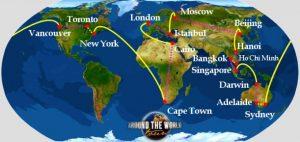 treno intorno al mondo