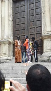 sfilata africa day