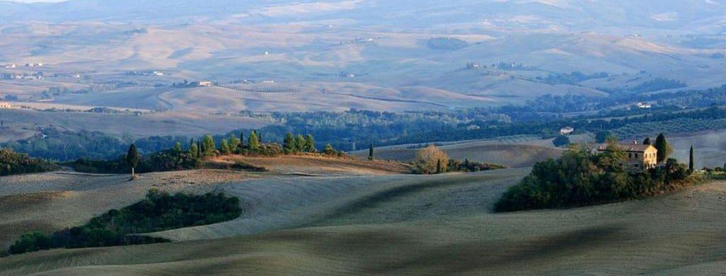 Panorama delle colline Toscane
