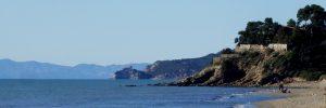 Punta Capezzolo e Forte delle Rocchette da Castiglione della Pescaia
