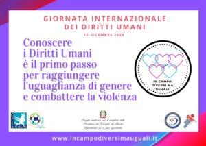 Una mascherina per i Diritti Umani e contro il gender gap