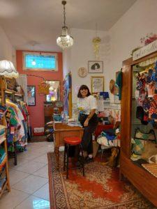 Chiara, proprietaria di Mademoiselle Vintage Shop