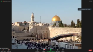 Gerusalemme_panorama sulla Cupola della Roccia e il muro del Pianto