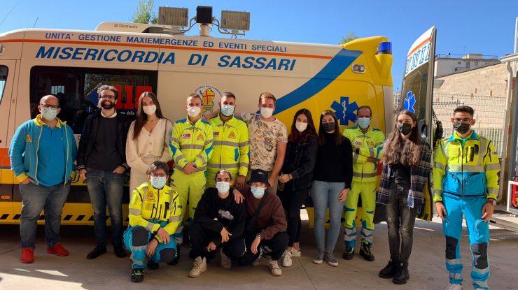volontari Acli sassari in visita alla Misericordia di Sassari